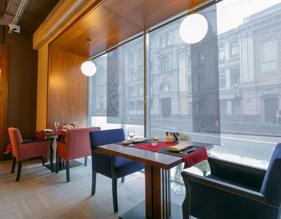 Ресторан Гинкго в Москве, Graphic London
