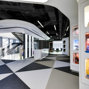 Офис Adidas в Шанхае, Китай Bolon BKB Sisal Plain Mole, Steel, Black 2